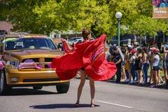 Beroemd Cinco de Mayo Parade royalty-vrije stock afbeeldingen