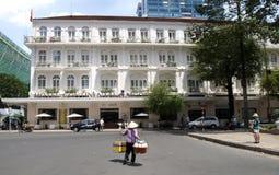 Beroemd Continentaal Hotel royalty-vrije stock foto's