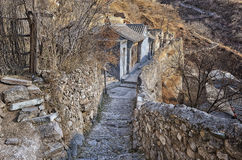 Beroemd de dynastiedorp van Chuandixia Ming Stock Fotografie