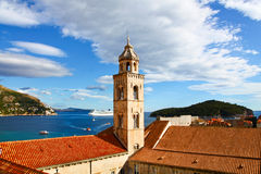 Beroemd Dominicaans Klooster in Kroatië stock foto