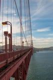Beroemd Golden gate bridge van Baker Beach, San Francisco, Californië de V.S. stock afbeeldingen