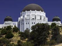 Beroemd Griffith-waarnemingscentrum in Los Angeles stock afbeeldingen