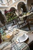 Beroemd het hotelrestaurant van de koffie royalty-vrije stock foto's