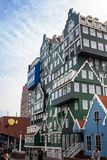 Beroemd hotel in Zandaam royalty-vrije stock foto's