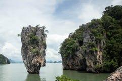 Beroemd James Bond Island, Phuket, Thailand-3 royalty-vrije stock afbeeldingen