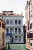 Beroemd kanaal-I-Venetië-Italië Stock Afbeelding