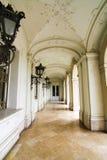 Beroemd kasteel in Keszthely stock fotografie