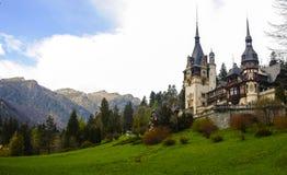 Beroemd koninklijk Peles-kasteel, Sinaia, Roemenië Stock Foto