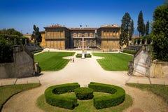 Beroemd landschap in Florence (Florence) royalty-vrije stock foto's