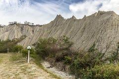 Beroemd landschap van gelijkaardige maanoppervlakte Royalty-vrije Stock Fotografie