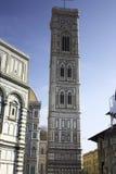 Beroemd monument in het vierkant van Duomo van Florence in Florence royalty-vrije stock fotografie
