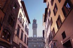Beroemd monument in het vierkant van Duomo van Florence in Florence royalty-vrije stock afbeeldingen