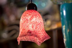 Beroemd Murano-glas in Venetië royalty-vrije stock foto's