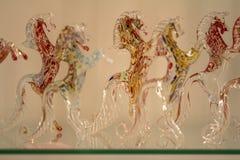 Beroemd Murano-glas in Venetië royalty-vrije stock foto
