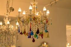 Beroemd Murano-glas in Venetië stock afbeelding