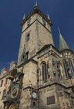 Beroemd Oud Stadhuis in Praag Stock Fotografie