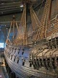 Beroemd oud vasa schip in Stockholm Royalty-vrije Stock Fotografie