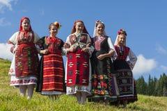 Beroemd rozhen folklorefestival in Bulgarije royalty-vrije stock foto's
