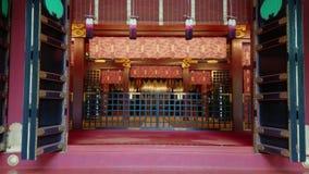 Beroemd Shinto-Heiligdom in Tokyo - Nezu Jinja in Bunkyo stock videobeelden