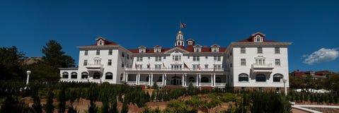 Beroemd Stanley Hotel in Estes Park, Colorado royalty-vrije stock afbeelding