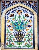 Beroemd stijlkunstwerk tijdens de Dynastie van Mughal ` s Royalty-vrije Stock Fotografie