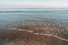 Beroemd strand in Venetië stock foto
