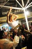 Beroemd trampetfestival in West-Servië, Guca-dorp Royalty-vrije Stock Afbeeldingen