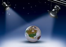 Beroemde Aarde Stock Fotografie