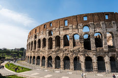 Beroemde colosseum Royalty-vrije Stock Fotografie