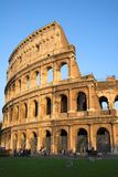 Beroemde Colosseum of Coliseum i stock fotografie