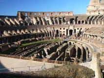 Beroemde Colosseum - Flavian Amphitheatre, Rome, Ita Royalty-vrije Stock Afbeeldingen