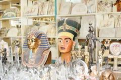 Beroemde Egyptische geschiedenis stock foto