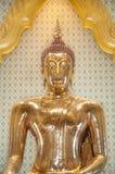 Beroemde gouden Boedha in Wat Traimit, Bangkok Royalty-vrije Stock Foto