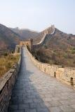 Beroemde grote muur - deel Simatai stock foto