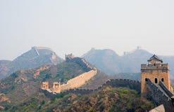 Beroemde grote muur in Simatai stock foto's