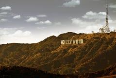 Beroemde Hollywood stock fotografie