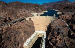 Beroemde Hoover-Dam dichtbij Las Vegas, Nevada Stock Fotografie