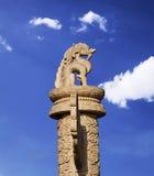 Beroemde Huabiao in Peking, China Stock Afbeeldingen