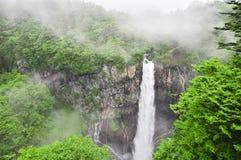 Beroemde Japanse waterval Kegon in Nikko royalty-vrije stock foto