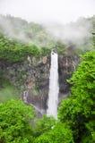 Beroemde Japanse waterval Kegon in Nikko royalty-vrije stock foto's