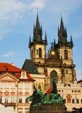 Beroemde kathedraal in Praag royalty-vrije stock fotografie