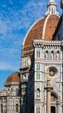 Beroemde kerk in Florence Stock Afbeelding