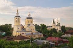 Beroemde kerken van Serpukhov, Rusland Stock Foto