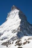 Beroemde Matterhorn. De kant van Swizz Royalty-vrije Stock Fotografie
