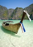 Beroemde Maya baai Stock Foto