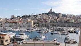 Beroemde mening van Marseille, Frankrijk stock videobeelden