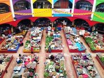 Beroemde natte markt in Maleisië Royalty-vrije Stock Foto's