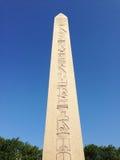 Beroemde Obelisk van Theodosius Stock Foto