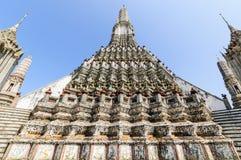 BEROEMDE PAGODE IN BANGKOK Stock Afbeeldingen