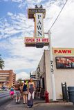 Beroemde pandwinkel in Las Vegas Stock Foto